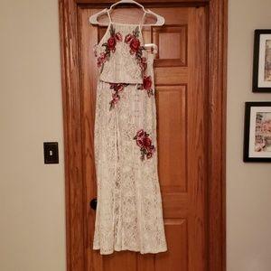 Lulus two piece dress